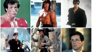 Rocky, Rambo, Cobra, Demolition man, Cliffhanger, Tango & Cash