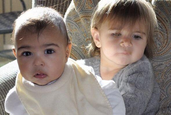 Kim Kardashian compartió una tierna foto de su bebita Nori, en brazos de...