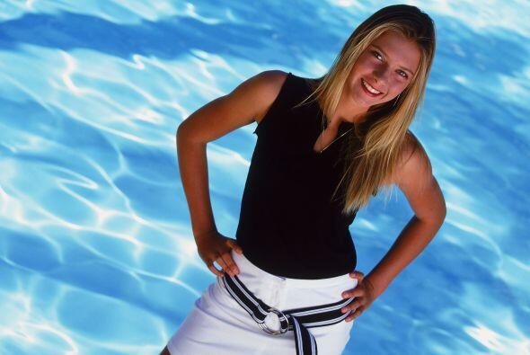 Aunque desde pequeña salió de su tierra natal, Sharapova siempre defende...