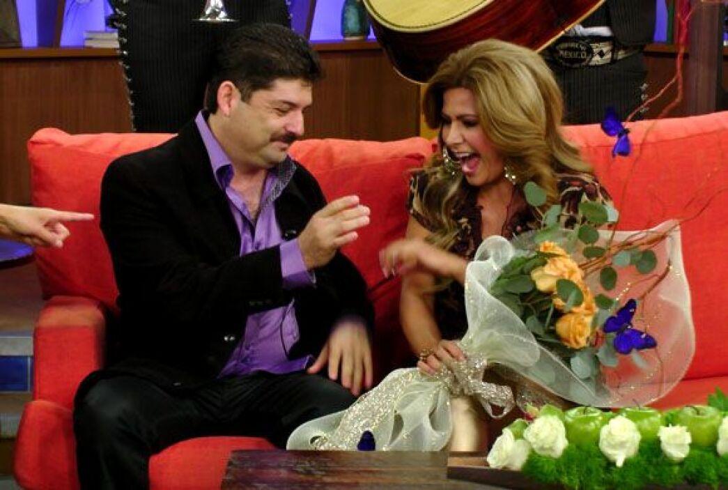 Carmen no podía ocultar su emoción al escuchar a Jorge pidiéndole matrim...