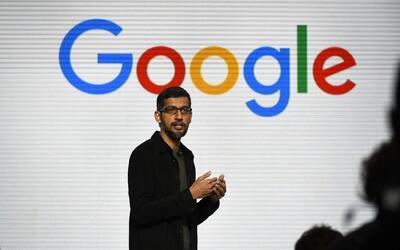Sundar Pichai, CEO de Google, presentó su visión de aparat...