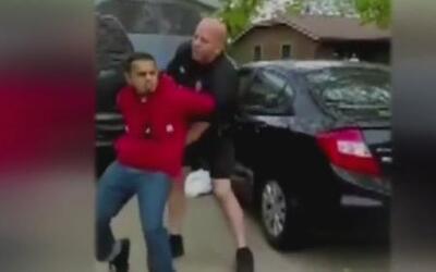 Violento arresto en Wisconsin