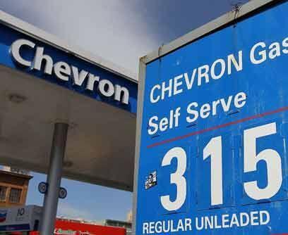 3. ChevronA consecuencia de las caídas en los precios del gas natural y...