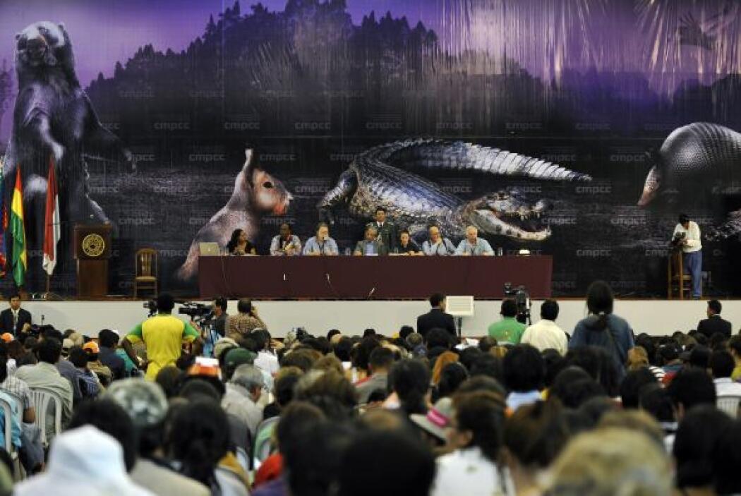 Ya en este año en Cochambamba, Bolivia, se realizó la 'conferencia del p...