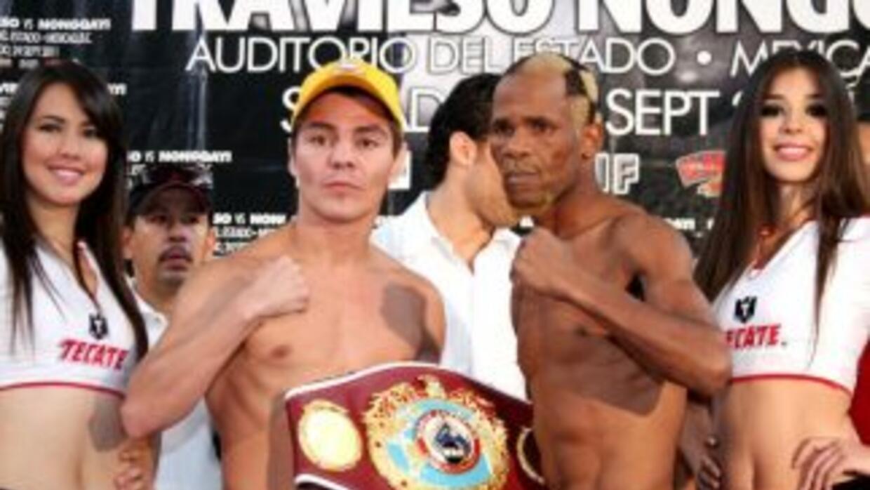 Jorge Arce y Simphiwe Nongqayi están listos para su pleito en Mexicali (...