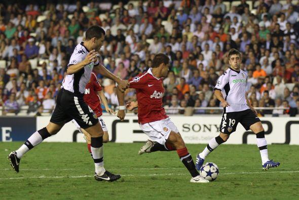 2.- Después siguió un momento clave ante el Valencia, en Champons League...