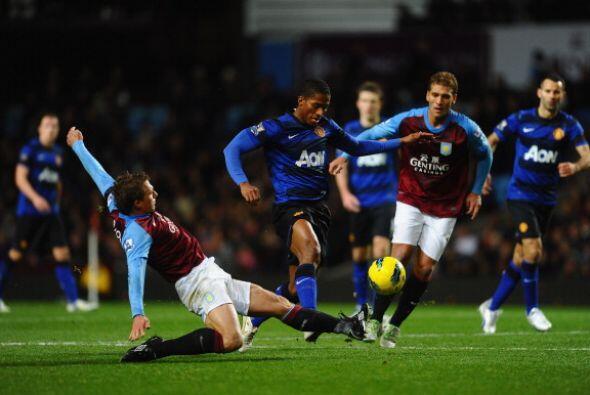 El Manchester United enfrentó al Aston Villa sabiendo que el 'Cit...