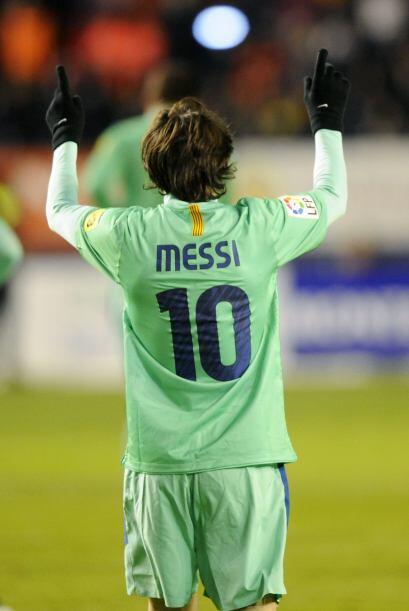 Messi suma goles, buenas actuaciones y mucho fútbol en ést...