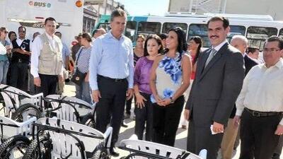 Sillas de ruedas donadas por el gobierno de Sonora, fueron objetos de bu...
