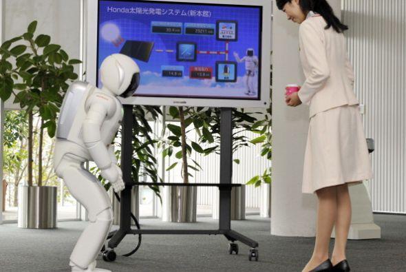 Lo que lo diferencia de cualquier otro robot es que es capaz de decidir...