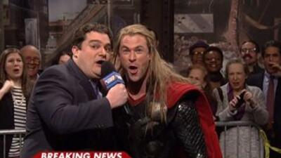 Thor Avengers SNL Skit