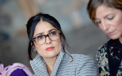 Salma Hayek compartió el pasado sábado con otras lí...