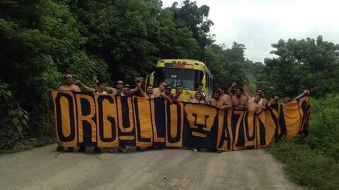 La Rebel viaja a Honduras para apoyar a Pumas