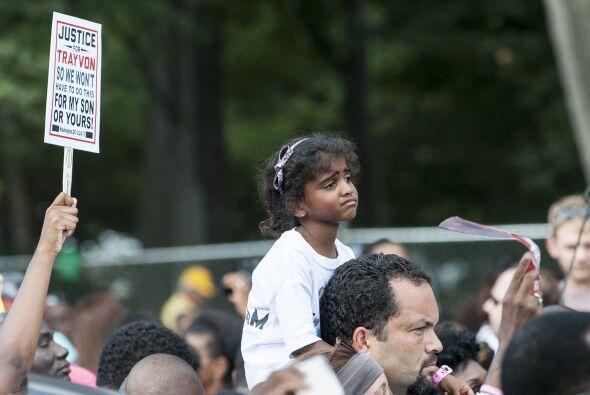 La marcha fue un homenaje a una generación de activistas que soportaron...