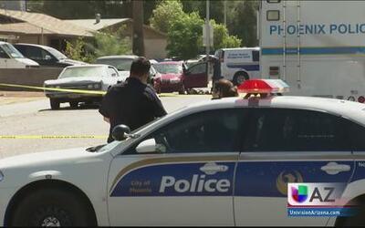 El Departamento de Policía de Phoenix dio a conocer detalles del hecho.