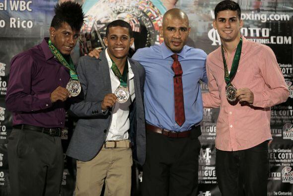 Miguel Cotto ya es un boxeador histórico en Puerto Rico (Foto: Co...