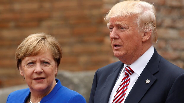 """Como """"difícil e insatisfactorio"""" describió la canciller alemana el debat..."""