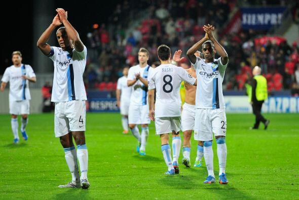 Fácil triunfo para el Manchester City.