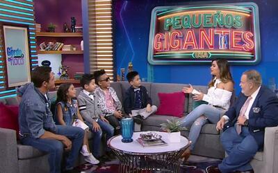 Johnny Lozada y su equipo 'Los Peque Flow' llegaron a contarnos todo sob...