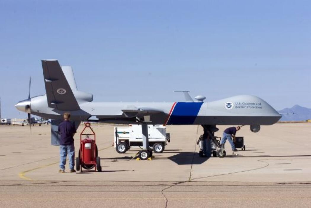 El uso de estos aviones, a cargo de la Oficina de Aduanas y Patrulla de...