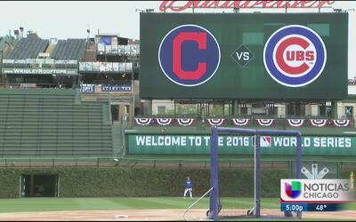 Chicago se alista para el tercer juego de la Serie Mundial