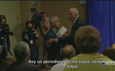 Trump expulsó a Jorge Ramos de conferencia de prensa