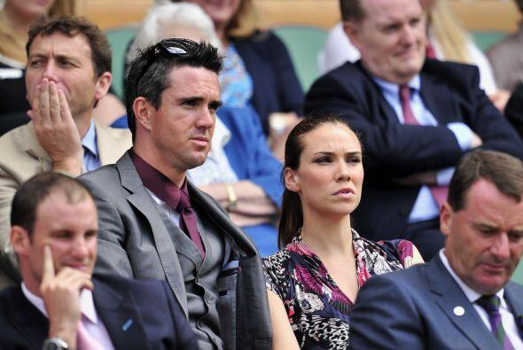 ¡Qué bella la esposa del jugador Kevin Pietersen, Jessica Taylor!.