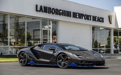 Esta es la primera unidad del Lamborghini Centenario que llegó a...