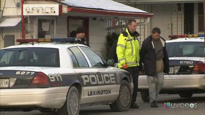 Un prófugo se entrega a las autoridades debido al frío