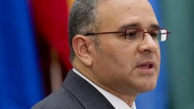 Mauricio Funes, presidente de El Salvador.