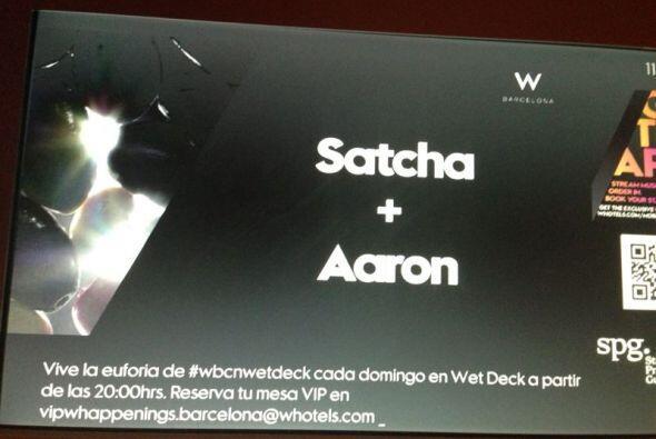 El hotel W en Barcelona está de fiesta por la boda de Satcha + Aa...