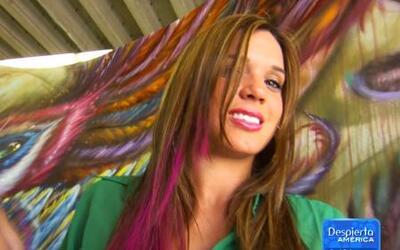 Mechones de colores para cambiar tu look