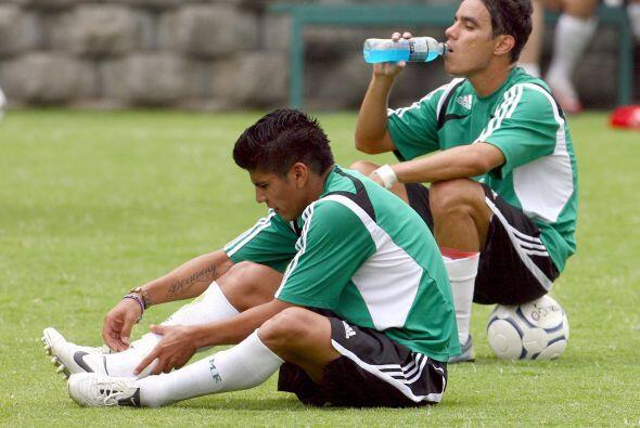Con la llegada de Hugo Sánchez tuvo problemas para ser convocado....