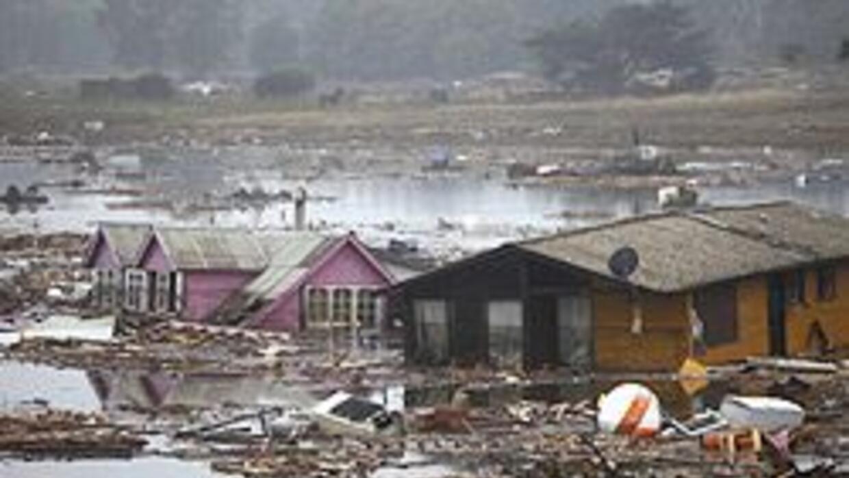 Olas gigantes destruyeron poblados del sur de Chile tras el terremoto fe...