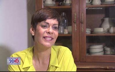 Maria de Lourdes Santiago asegura que hay esperanza de que Puerto Rico p...