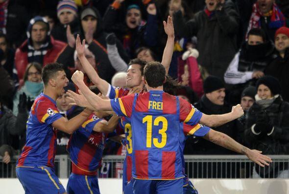 El Basilea conseguía irse al frente en este primer partido.