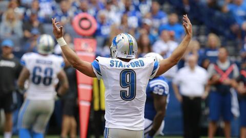 Lo que hizo Matt Stafford para darle la victoria a Lions ante Colts