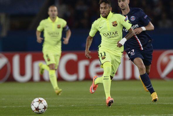 Pero fue insuficiente, y el Barcelona perdió ante el PSG por 3-2....