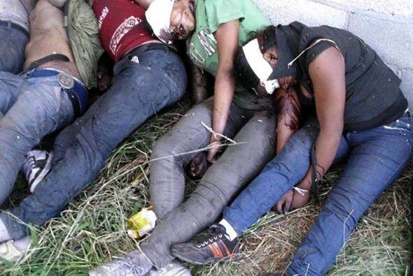 Los cuerpos fueron encontrados después de que un sobreviviente, de nacio...
