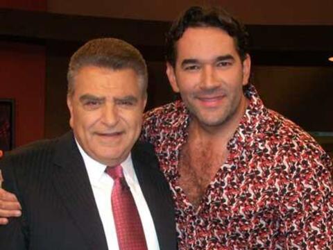 Eduardo Santamarina también visita al Don para hablar a coraz&oac...