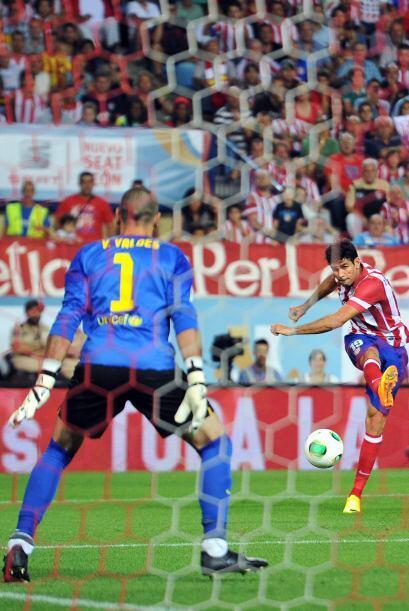 Algunas oportunidades más de gol se vieron, pero nadie pudo sacar la ven...