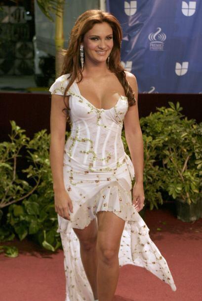 En 2004 Mariana Seoane deslumbró con su belleza.