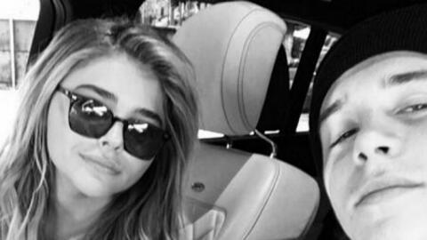 Chloë Moretz y Brooklyn Beckham (c) Instagram