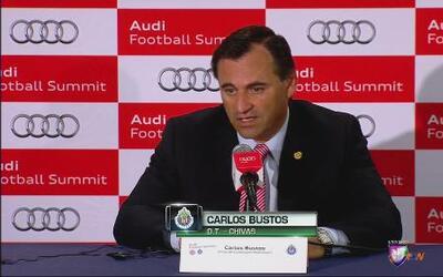 """Carlos Bustos: """"No nos quedamos contentos con el resultado"""""""