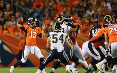 Rams - Broncos: Trevor Siemian en ventaja sobre Sánchez y Lynch por la t...