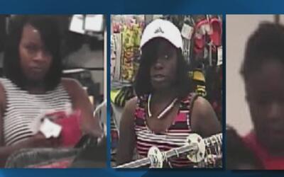 Policía busca a tres mujeres sospechosas de entrar a robar a una tienda...