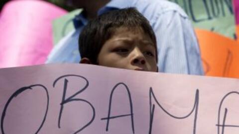 Un niño que ha sido víctima de las leyes migratorias.