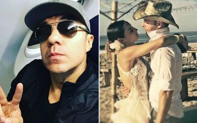 Adrián Uribe triste por la boda e Marimar Vega