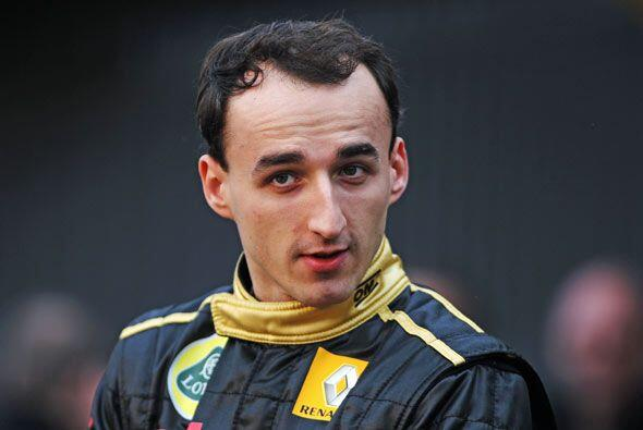 Kubica disputó su primera carrera profesional en Hungría e...