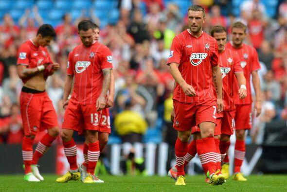 Por su parte, Southampton hizo un gran esfuerzo, pero no le bastó y regr...